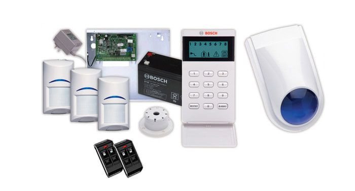 Intrusion and Fire Alarm systems